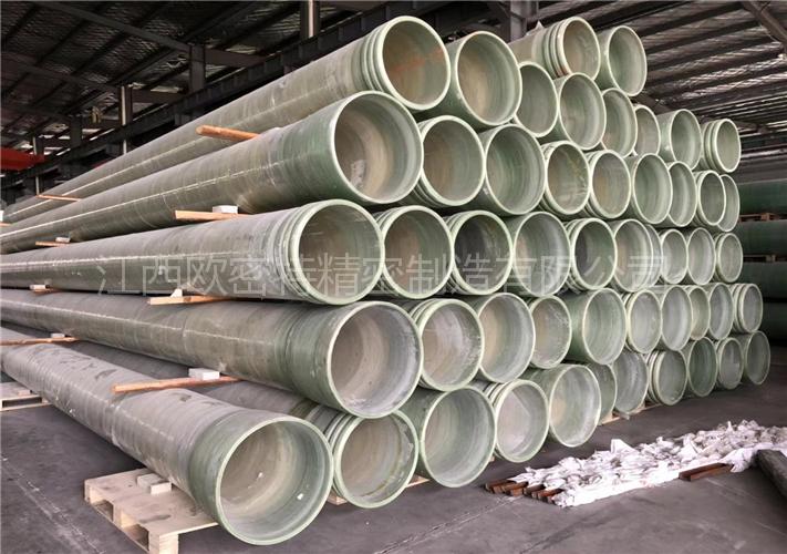 玻璃钢夹砂管道(500直径、10000钢度)