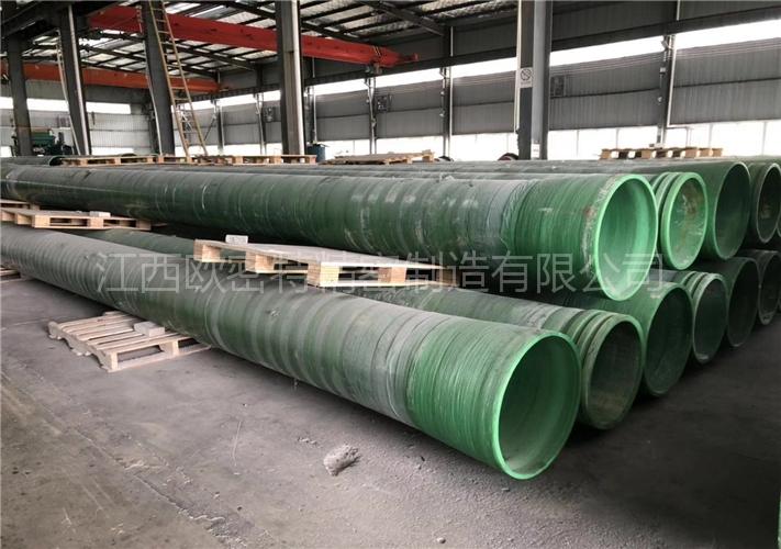 玻璃钢夹砂管道(500直径、7500钢度)